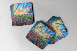 kingsholm Coaster set of four